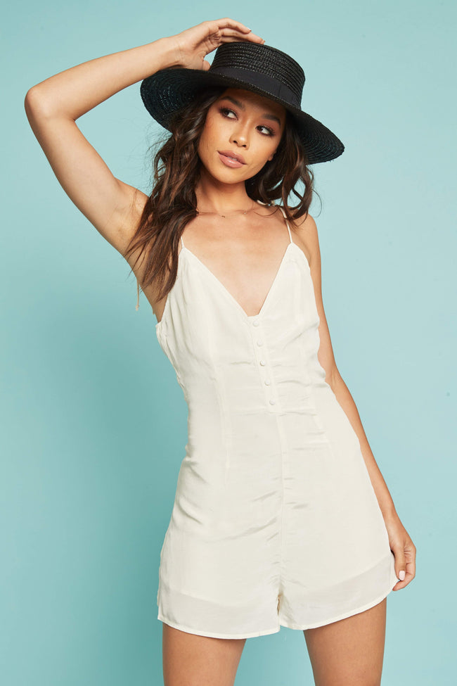 Clear Waters Romper - FINAL SALE