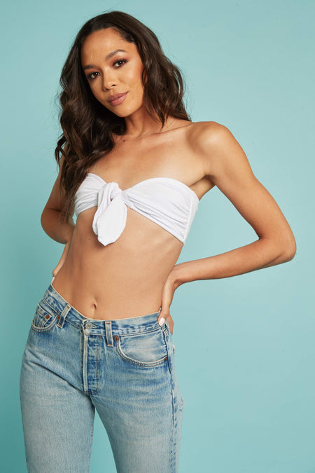 Lucky Stripe Crop Top - FINAL SALE