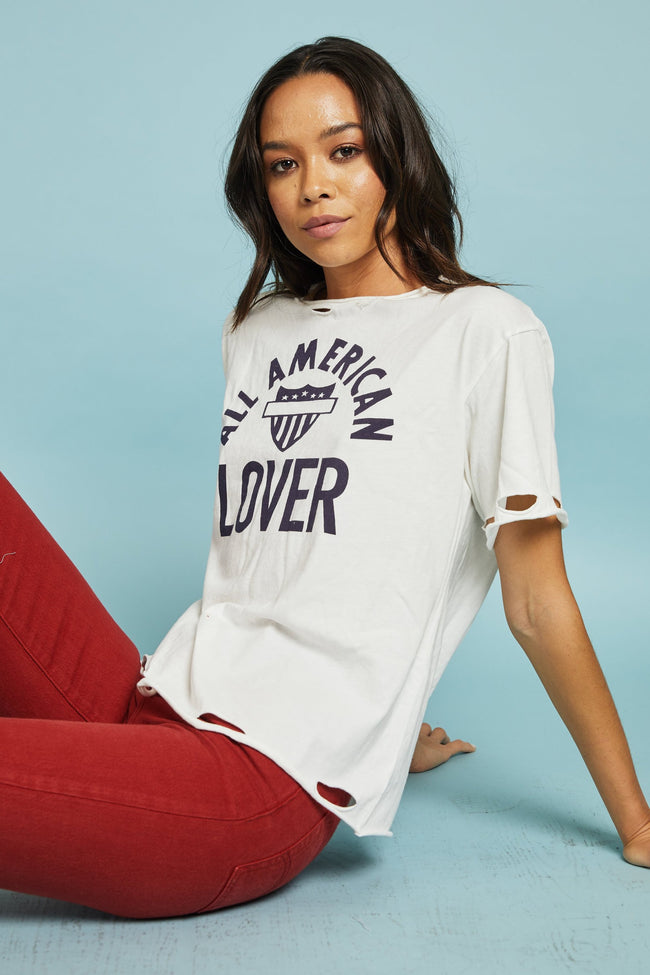 All American Lover Tee by Daydreamer
