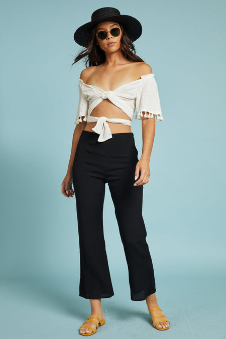 Sicily Cropped Jumpsuit
