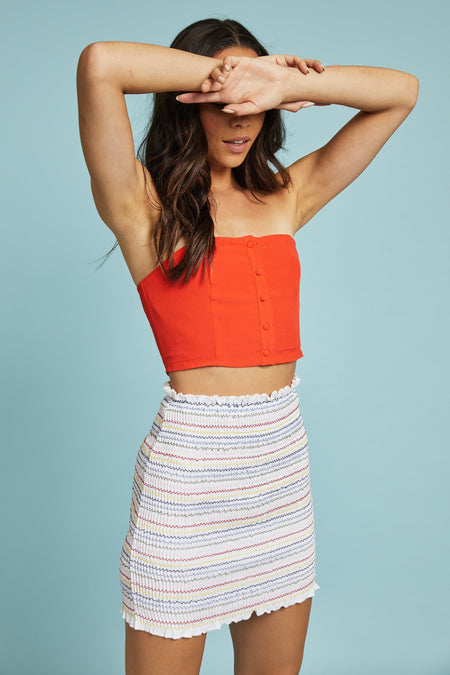 Sun Drop Crop Top - FINAL SALE