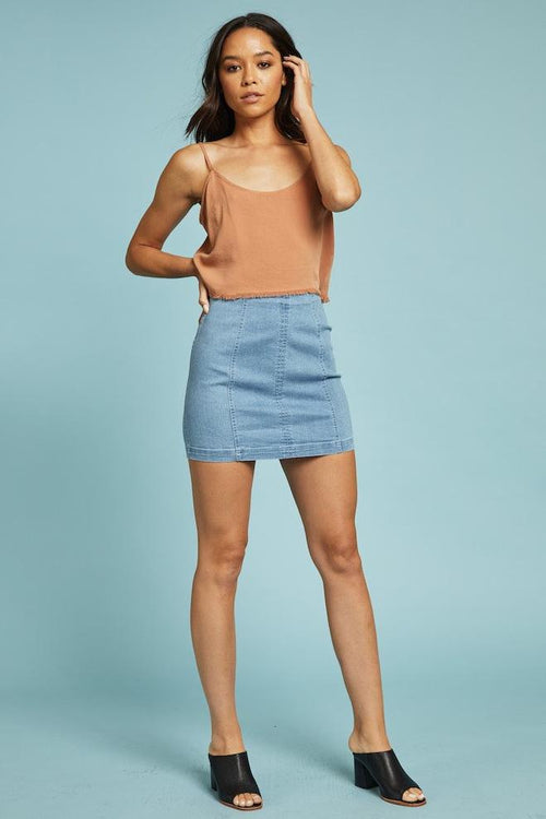 Blue Jean Baby Skirt- FINAL SALE