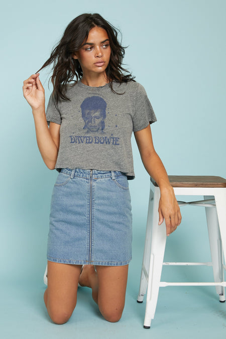 Undone Denim Skirt - FINAL SALE