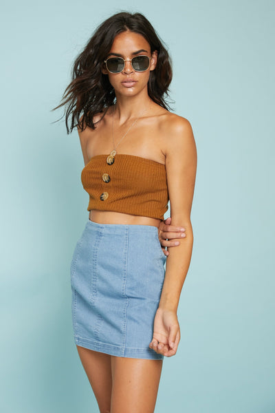 Pushing Buttons Bandeau - FINAL SALE