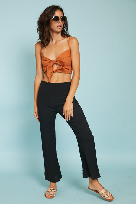 Linear Cropped Jumpsuit