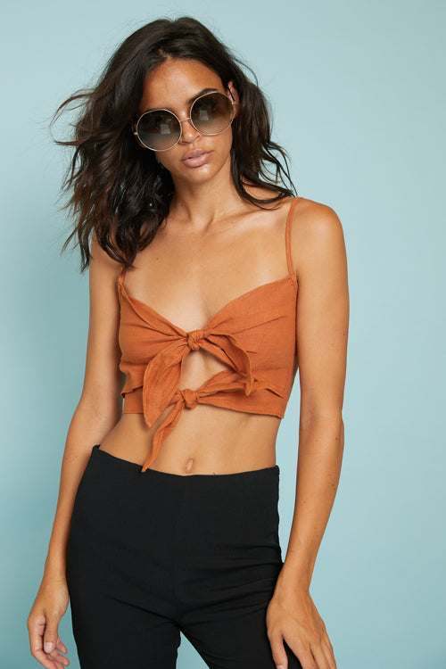 Summer Sun Crop Top - FINAL SALE