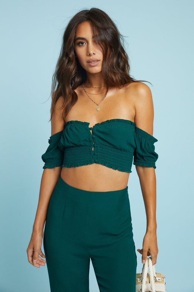 Over The Hills Crop Top - FINAL SALE