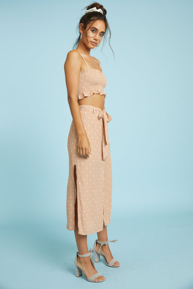 Golden Girls Midi Skirt