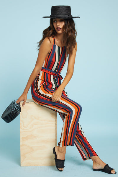 Walk This Way Jumpsuit - FINAL SALE