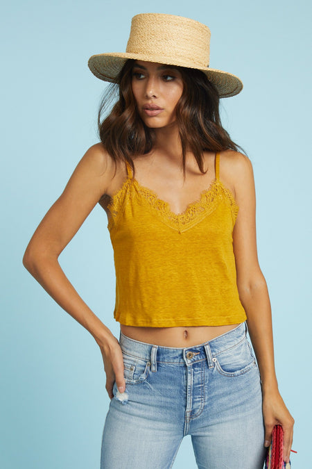Mahalo Crop Top- FINAL SALE