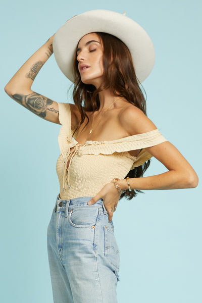 Scrunch Time Bodysuit - FINAL SALE