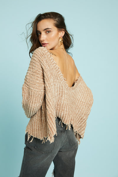 All Torn Up Sweater