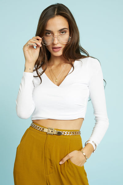 In Sync Crop Top - FINAL SALE