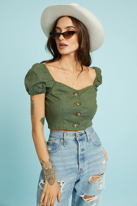 On Repeat Crop Top - FINAL SALE