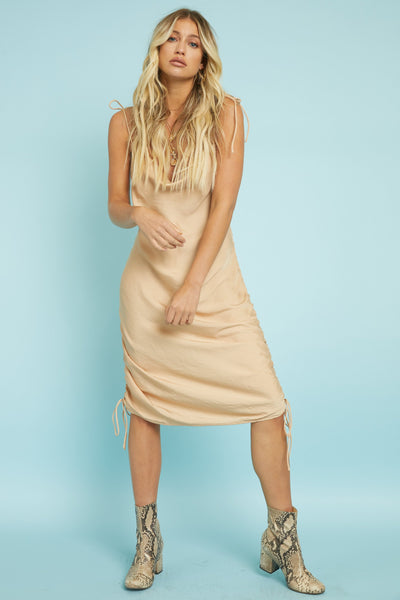 Slip Up Dress