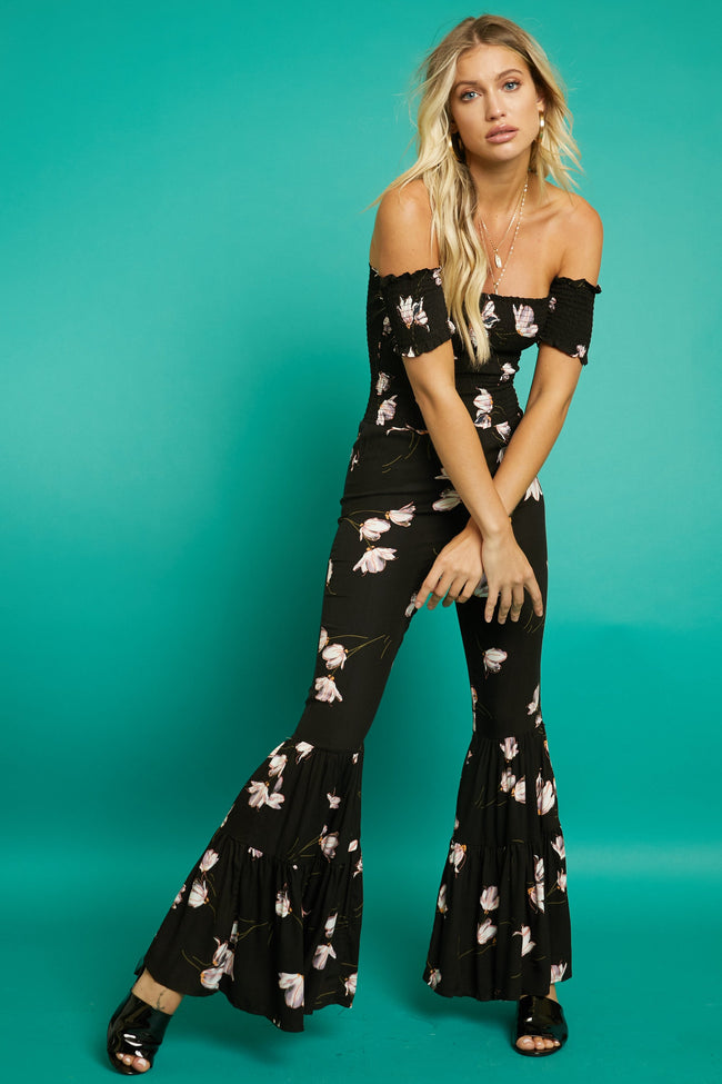 Como La Flor Jumpsuit - FINAL SALE