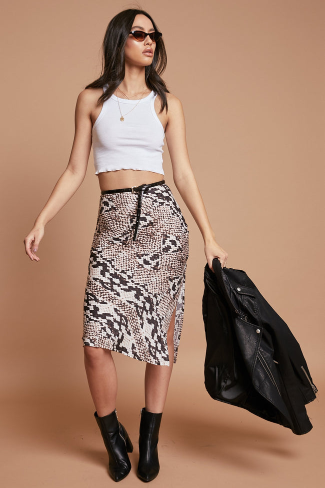 Rising Star Midi Skirt - FINAL SALE