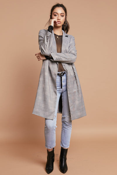 Running The Show Trench Coat - FINAL SALE