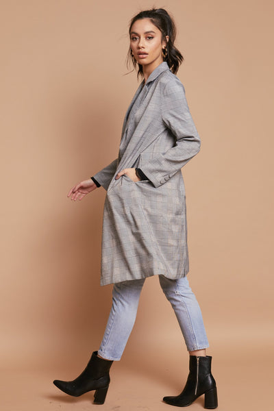 Running The Show Trench Coat