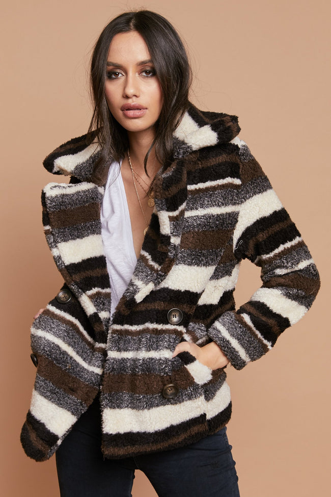 Baby It's Cold Outside Coat - FINAL SALE