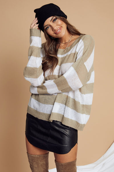 Marshmallow Sweater by Indah - FINAL SALE