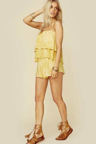 Marion Tiered Romper by Blue Life- FINAL SALE