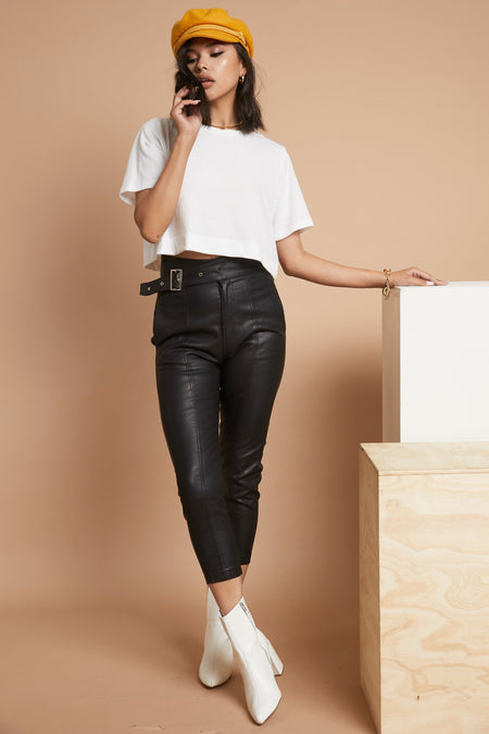 Iconic Leather Pant - FINAL SALE