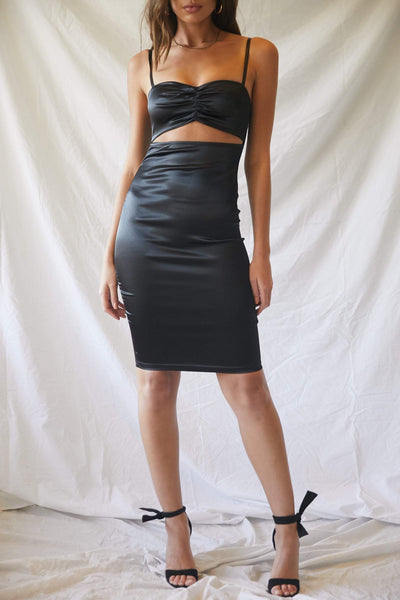 Shape Of You Satin Dress
