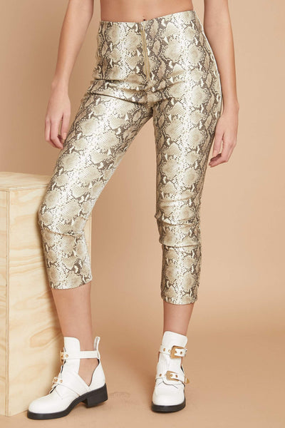 That Girl Is Poison Leather Pant - FINAL SALE