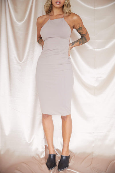 Style Advice Midi Dress - FINAL SALE