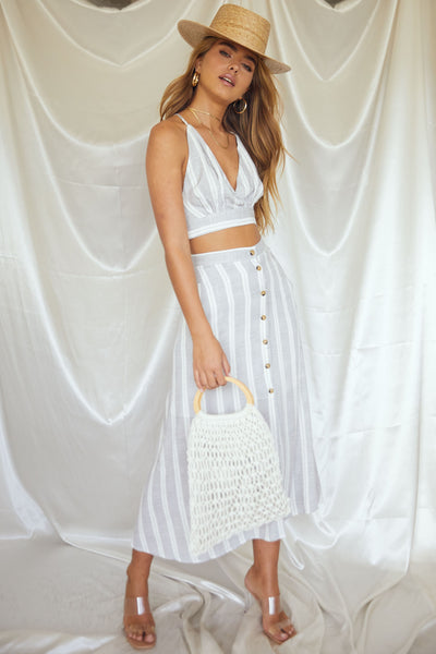 On A Boat Maxi Skirt