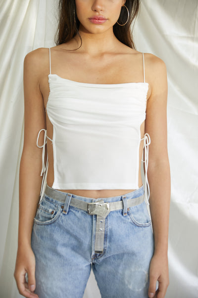 Charged Up Crop Top - FINAL SALE