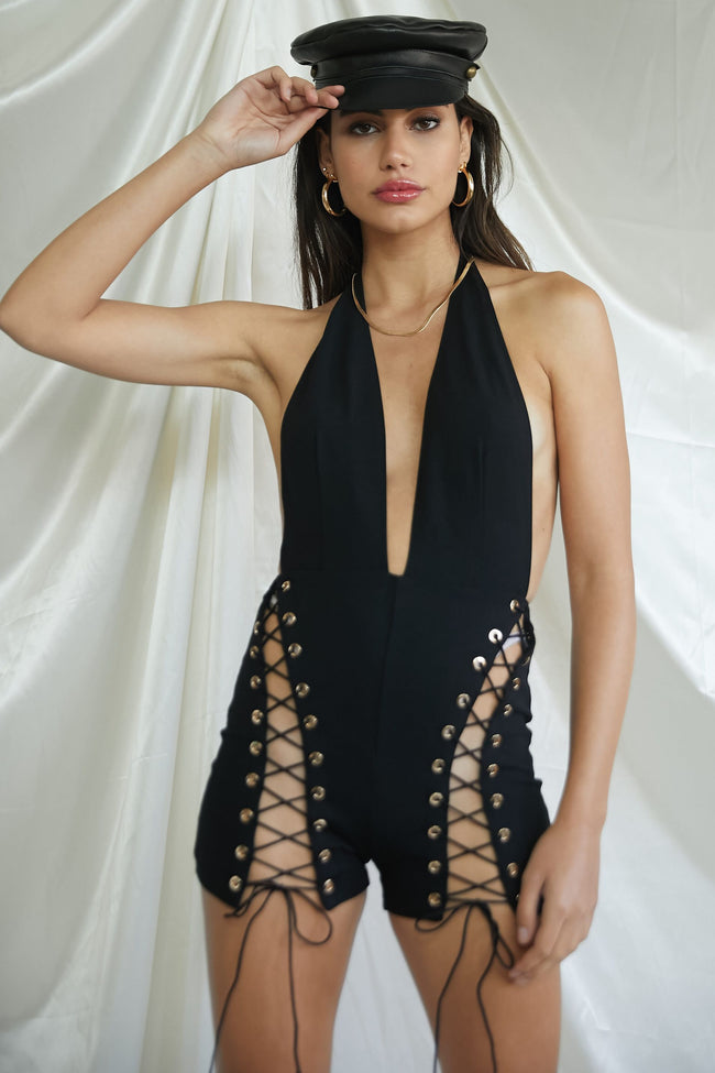 Lockdown Romper - FINAL SALE