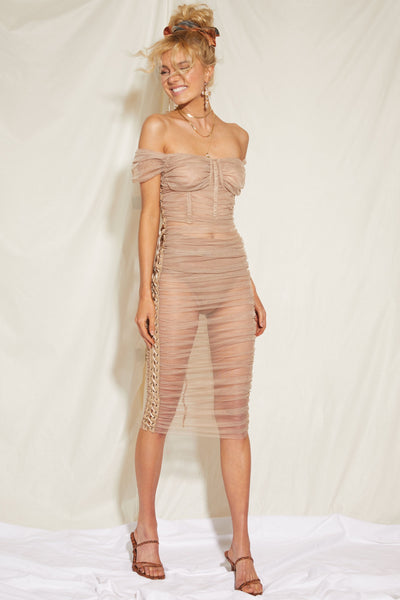 Breathin' Midi Dress - FINAL SALE