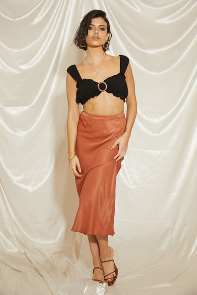 Alluring Midi Skirt - FINAL SALE