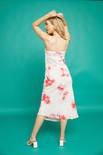 Strawberry Sundae Midi Dress - FINAL SALE