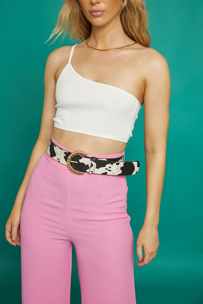 Knock It Off Crop Top - FINAL SALE
