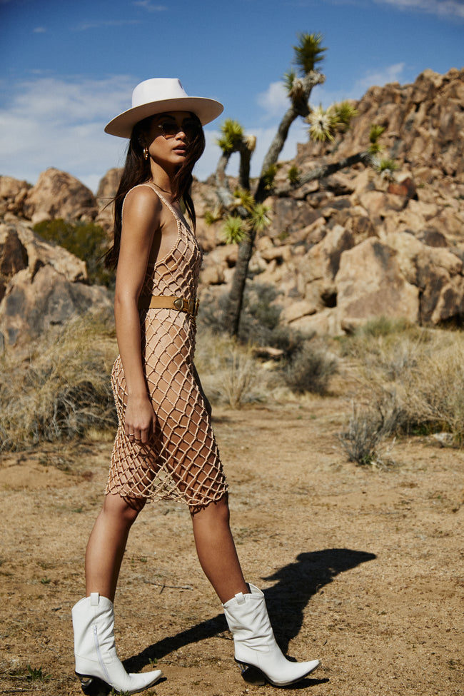 Wish You Were Here Midi Dress