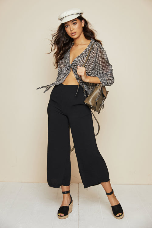Join The Fray Cropped Pant - FINAL SALE
