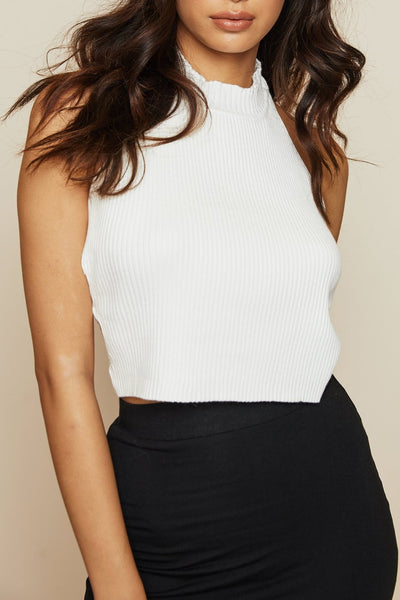 Made The Cut Crop Top - FINAL SALE