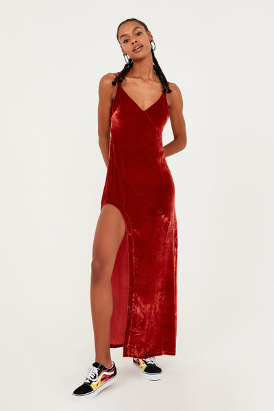 Nadine Velvet Maxi Dress by For Love & Lemons - FINAL SALE