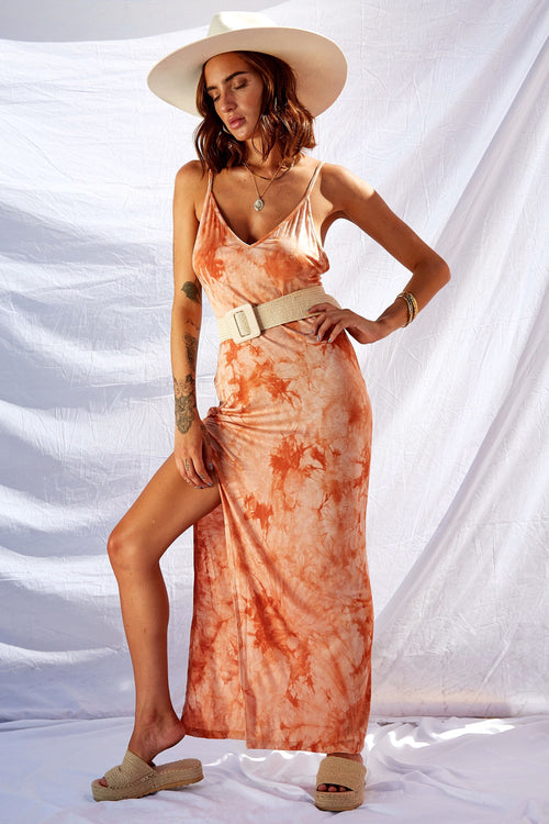Dreamsicle Maxi Dress