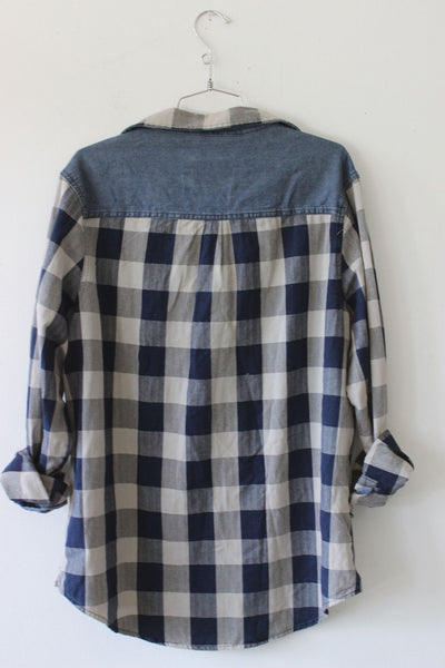 One Day Away Flannel Shirt by Luna B Vintage