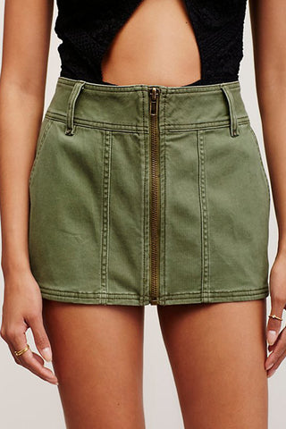 Too Cool Mini Skirt by Free People- FINAL SALE