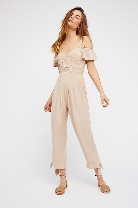 Jezebel Bodysuit by Free People- FINAL SALE