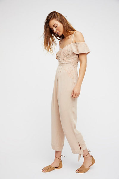 In The Moment Jumpsuit by Free People - FINAL SALE