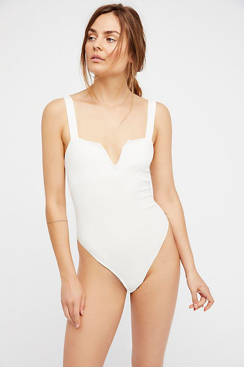 Pippa V-Wire Bodysuit by Free People