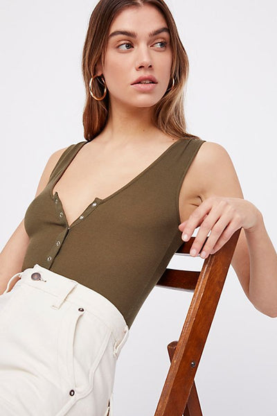 Take Me Out Tank Bodysuit by Free People