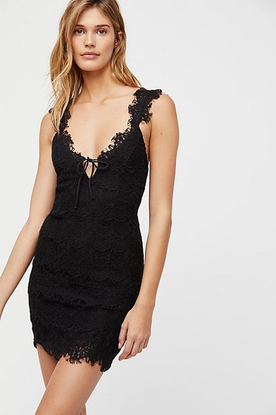 Night Moves Bodycon Slip by Free People