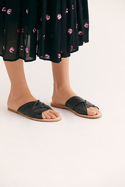 Rio Vista Slide Sandal by Free People - FINAL SALE